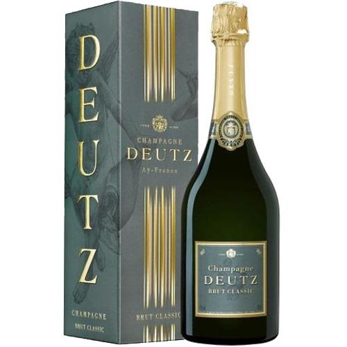 Deutz Brut Classic in geschenkverpakking 75CL