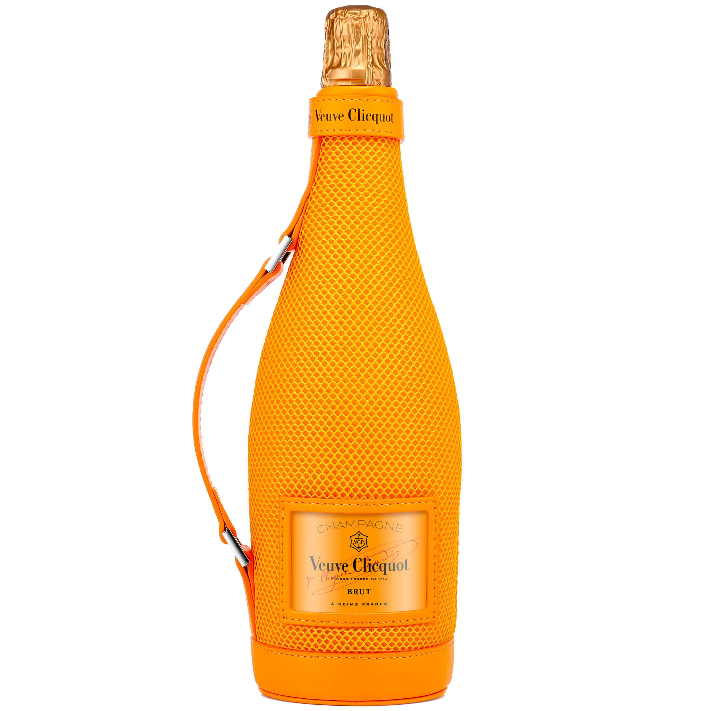 Veuve Clicquot Brut 'Ice Jacket' champagne met cooler 75 CL