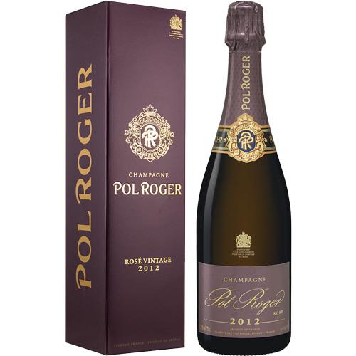 Pol Roger Rosé Vintage 2012 75CL in geschenkverpakking