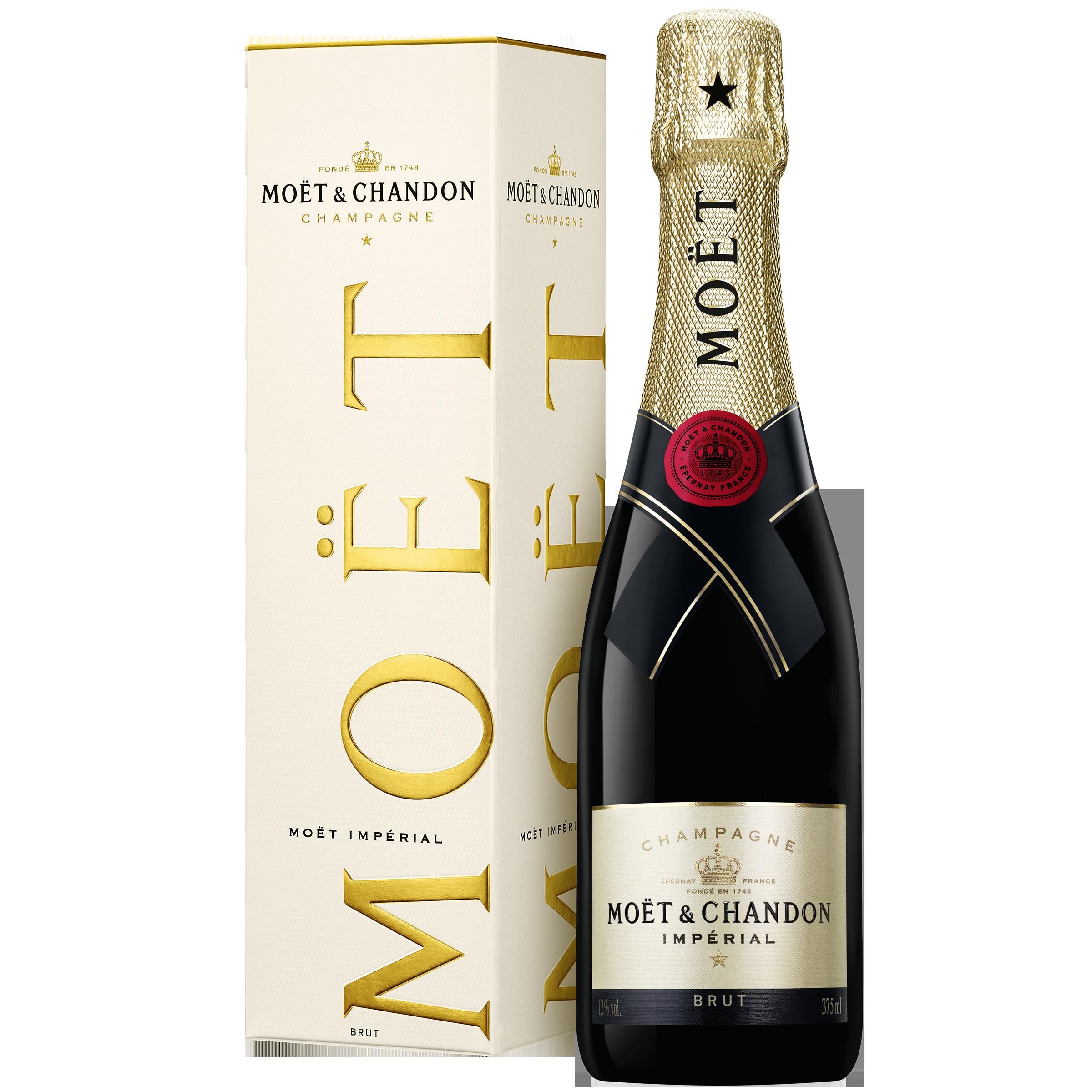 Moët & Chandon Brut Impérial 37.5CL Demi-bouteille in geschenkverpakking