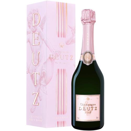 Deutz Brut Rosé demi bouteille in cadeaubox 37,5CL
