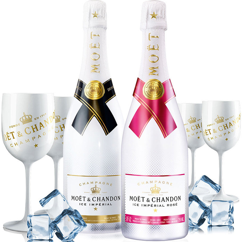Moët & Chandon Ice Impérial Rosé Demi-Sec 75CL