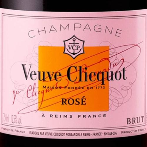 Veuve Clicquot Rosé Ice Jacket 75CL champagne met koeler