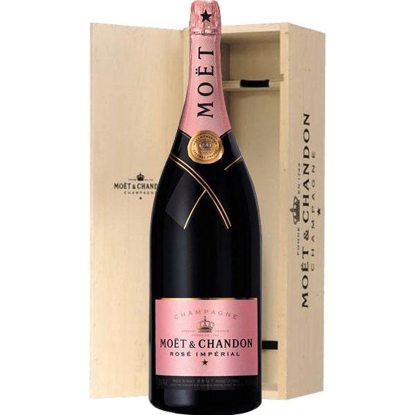 Moët & Chandon Rosé Impérial Brut Jeroboam 3 Liter fles