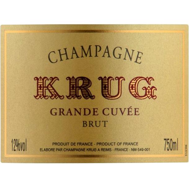Krug Grande Cuvée Brut edition 168 75CL in Coffret
