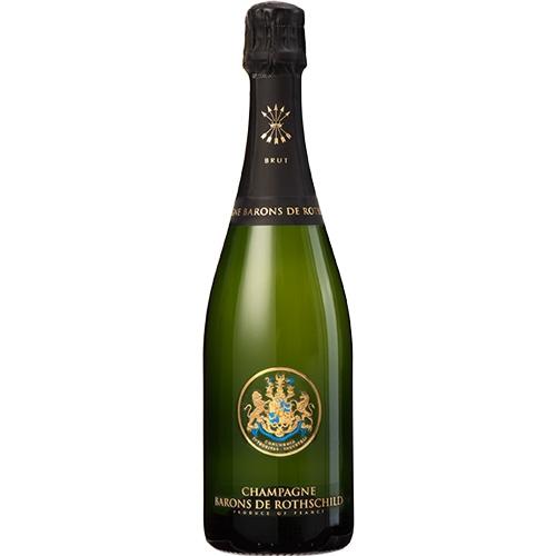Barons de Rothschild Brut 75CL in luxe geschenkdoos met glazen
