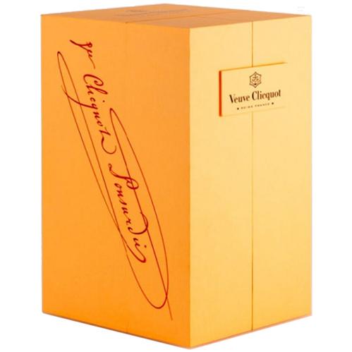 Veuve Clicquot Rosé 75CL in Luxe Geschenkbox met 2 champagneglazen