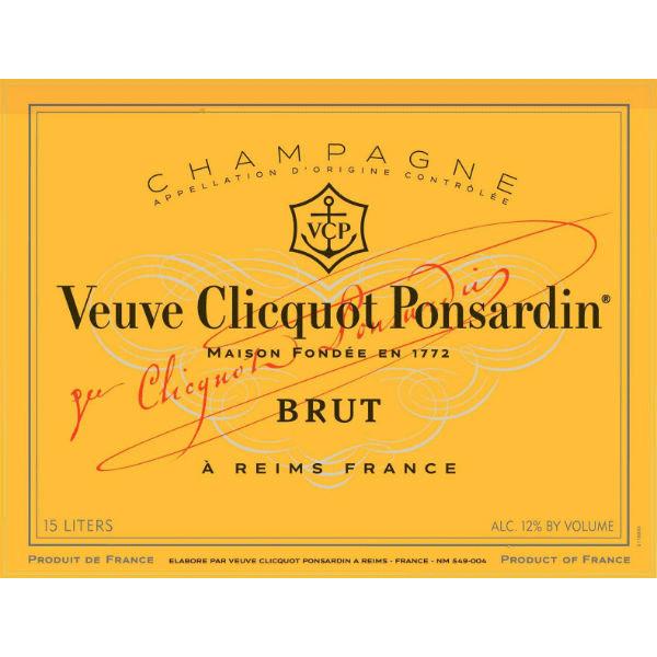 Veuve Clicquot Brut Nebuchadnezzar 15 Liter fles