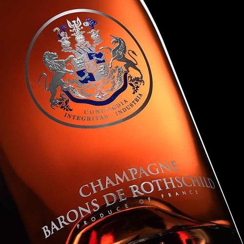 Champagne Barons de Rothschild Rosé 75CL