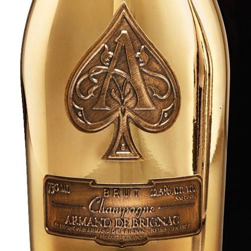 Champagne Armand de Brignac Brut Gold in luxe coffret 75CL