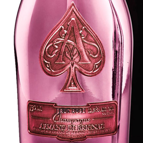 Armand de Brignac Rosé Ace of Spades in luxe coffret 75CL