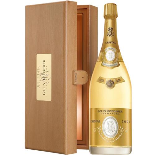 Louis Roederer Cristal 2009 in wijnkist Magnum 1,5 Liter