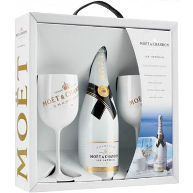 Moët & Chandon Ice Impérial Geschenkbox met glazen