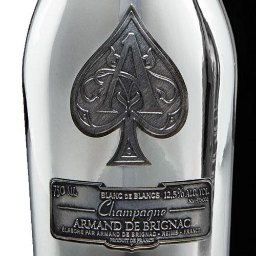 Armand de Brignac Blanc de Blancs Ace of Spades in luxe coffret 75CL