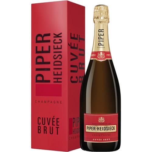 Piper-Heidsieck Cuvée Brut 75CL in geschenkdoos