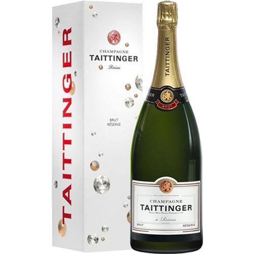 Taittinger Brut Réserve Magnum 1,5 Liter in Geschenkverpakking